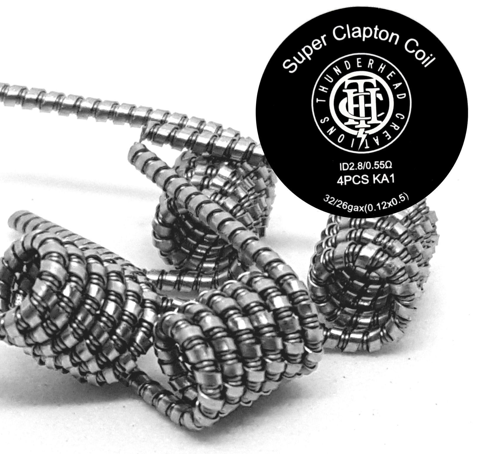 Super Clapton Coil Fertigwicklungen   Alpha-Steam - E-Zigaretten ...
