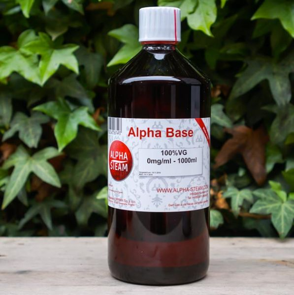 Alpha Base 100% VG | 1000ml