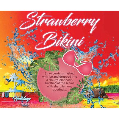 Strawberry Bikini | Summer Holidays - 50ml