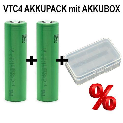Konion VTC4 DUO-Pack mit Akkubox