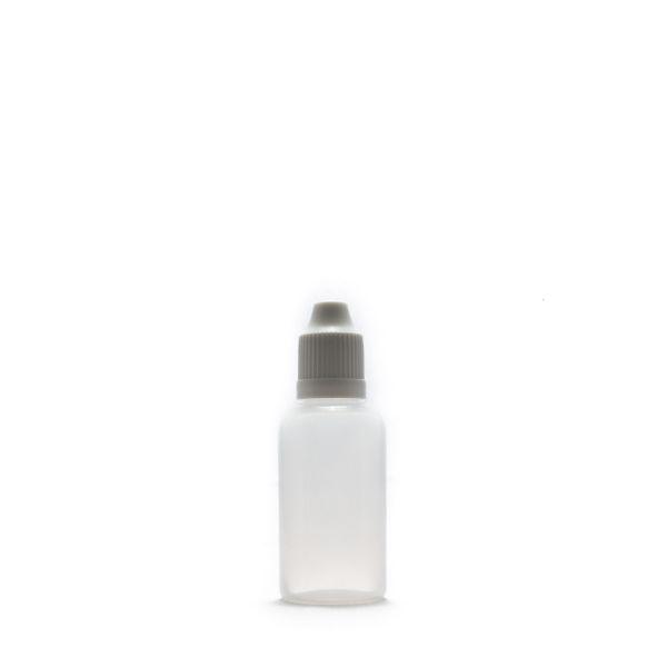 30ml Tröpfelflasche mit Sicherheitsverschluss und Tropfspitze