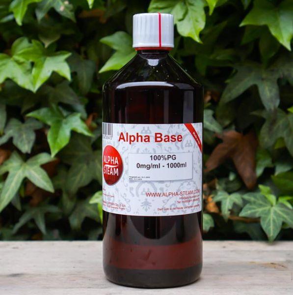Alpha Base 100% PG | 1000ml