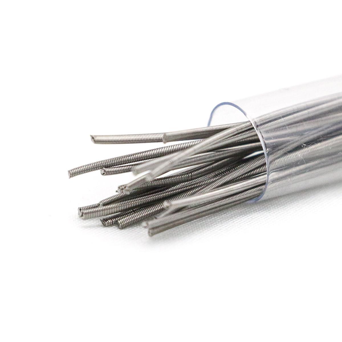 Fused Clapton Kanthal & Nichrome Wire 0,2*0,4 mm 20 Stück   Alpha ...
