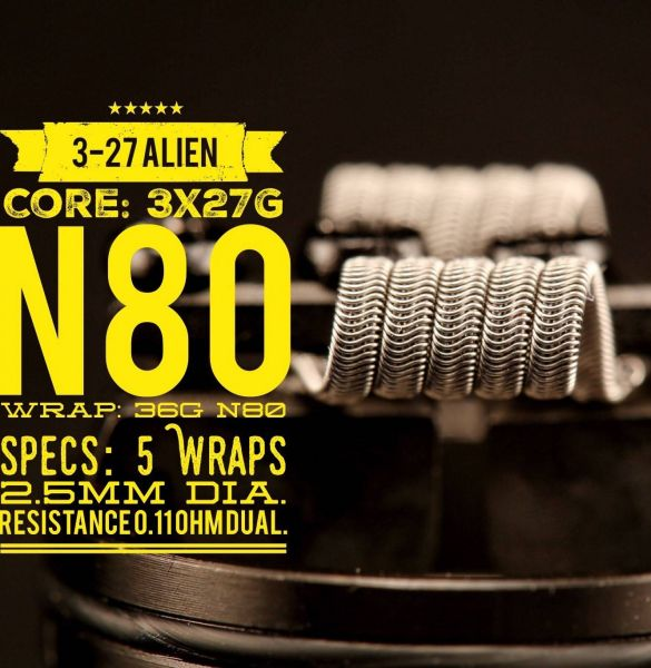 3-27 Alien | Tasty Ohm Coils