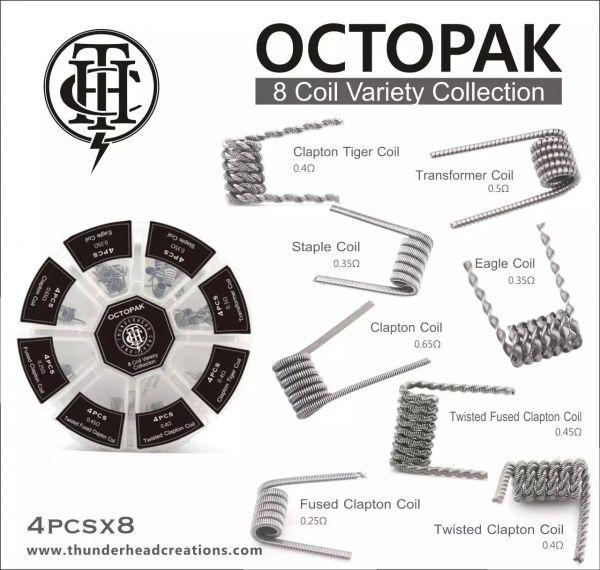 Clapton Octopack 8 Variationen