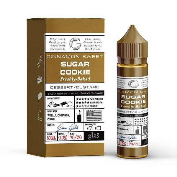 Cinnamon Sweet Sugar Cookie